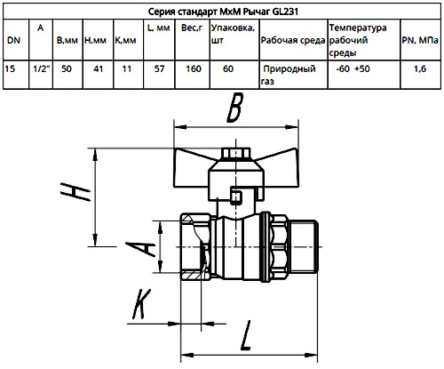 Размеры Галлоп 231 серия стандарт